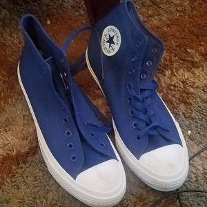Blue chucks